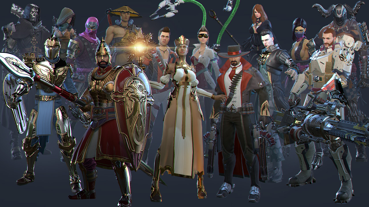how to change costumes in skyforge